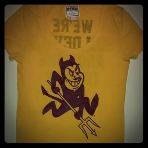Victoria's Secret  Sun Devil T Shirt Size Medium.